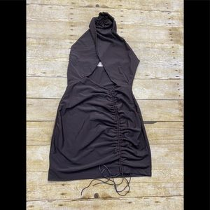 NWT Showpo SORCHA DRESS IN CHOCOLATE